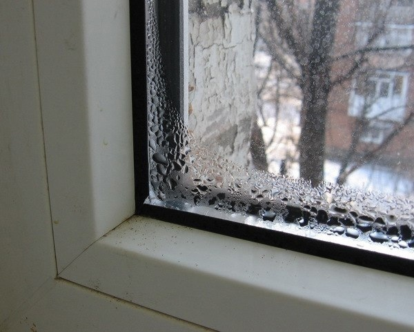 Почему образуется конденсат на пластиковых окнах?