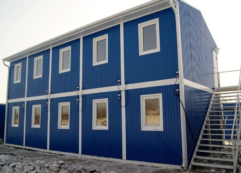 Модульные здания из блок-контейнеров и их достоинства