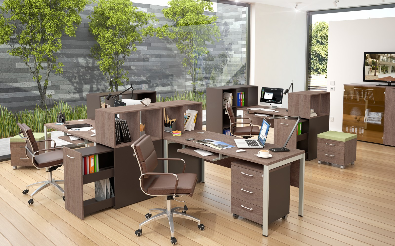 Что входит в понятие офисная мебель