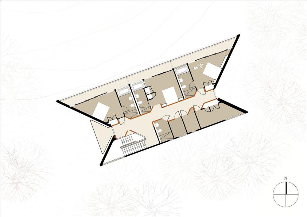 Загородный дом с отделкой из фанеры: современно и доступно