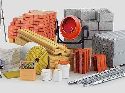 Реализация стройматериалов от компании «Куб»