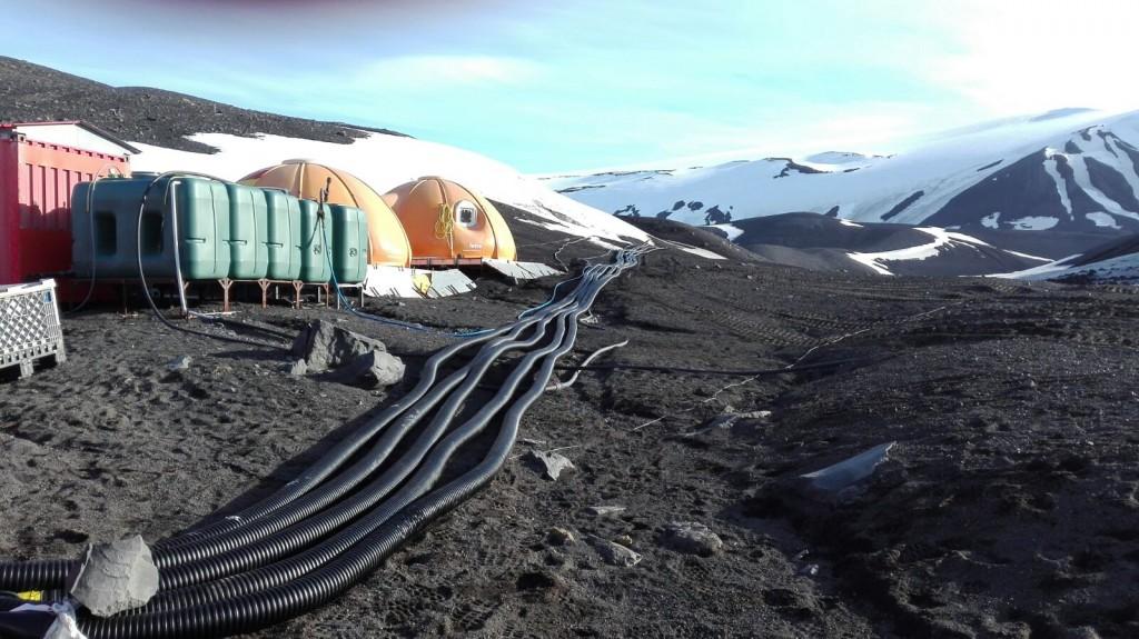 Какие трубы можно проложить в Антарктиде?